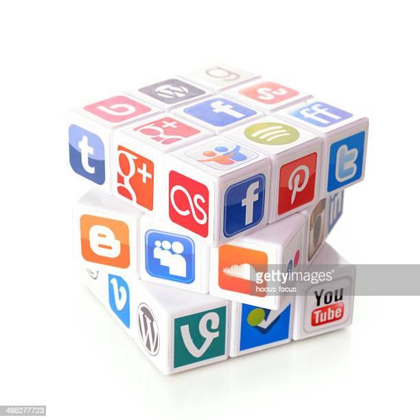 Concepto de las redes sociales