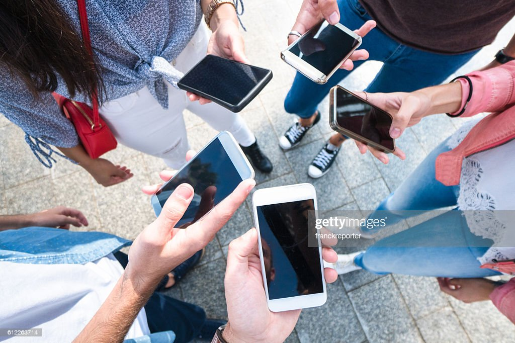 social networking friends : Stock Photo