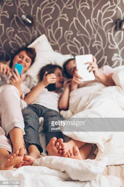 Social networking on a lazy morning