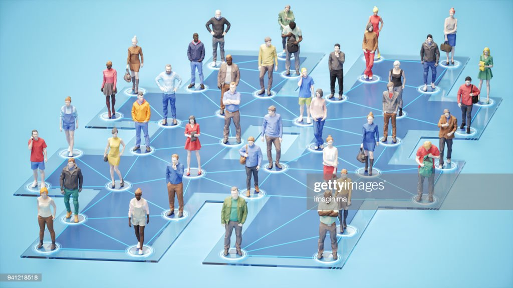 Social Networking : Stock Photo