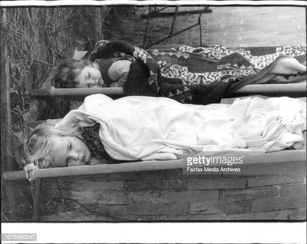 Social pix for Marie Knuckey Mrs Trent and her KindergartenIt was early afternoon sleepytime at Anna's Playground in Bellevue Hill and after a nice...