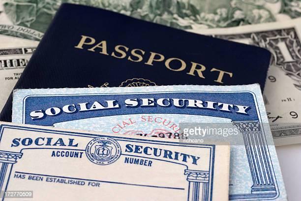 Carte de Sécurité Sociale & Passport