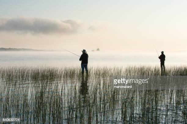 社会高齢者 - 淡水釣り ストックフォトと画像