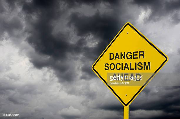 socialism road sign - socialism stock pictures, royalty-free photos & images