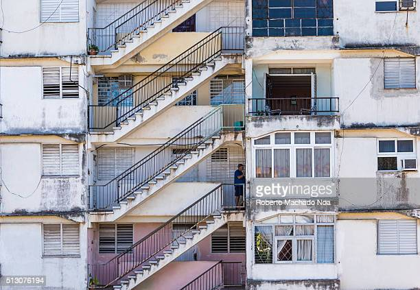 Socialist Cuba typical building pattern The Cuban revolution built thousands of these in an effort to provide affordable housing