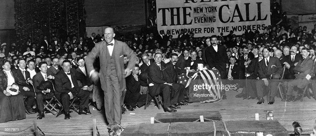 Eugene V Debs : News Photo