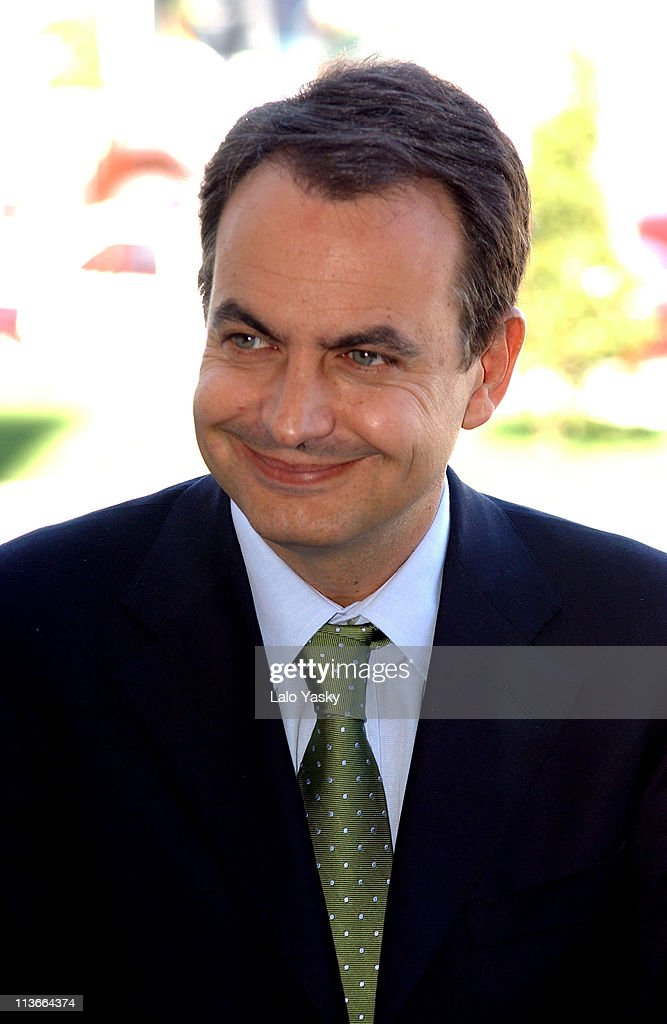 Jose Luis Rodriguez Zapatero Awaits Spanish General Election Results - March