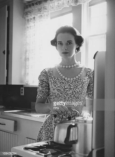 Socialite, actress and fashion designer Gloria Vanderbilt circa 1950.