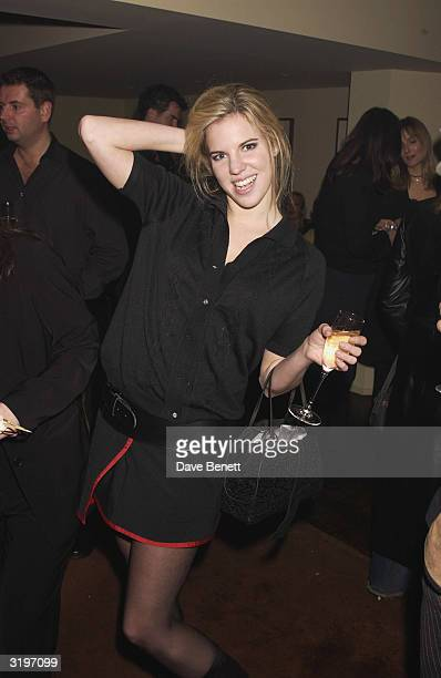 Socialite Alexandra Aitken at the Fourth Birthday Party of Actress Leslie Ash's and retired footballer Lee Chapman's Restaurant Teatro on Shaftesbury...