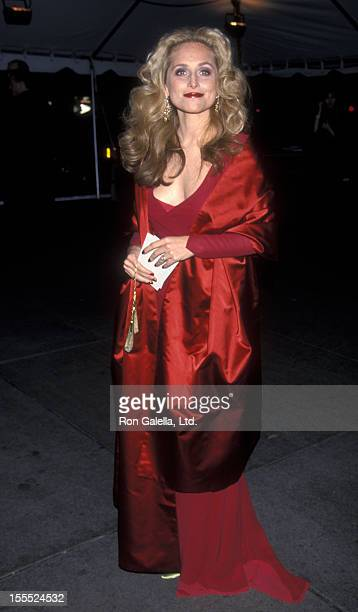 Socialite Alexandra Miller attends 50th Anniversary of Costume Institute Gala on December 7 1998 at the Metropolitan Museum of Art in New York City