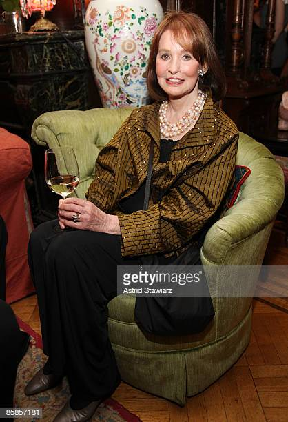 Socialite and artist Gloria Vanderbilt attends the The National Arts Club's Literary Committee Honoring Joyce Carol Oates held at The National Arts...