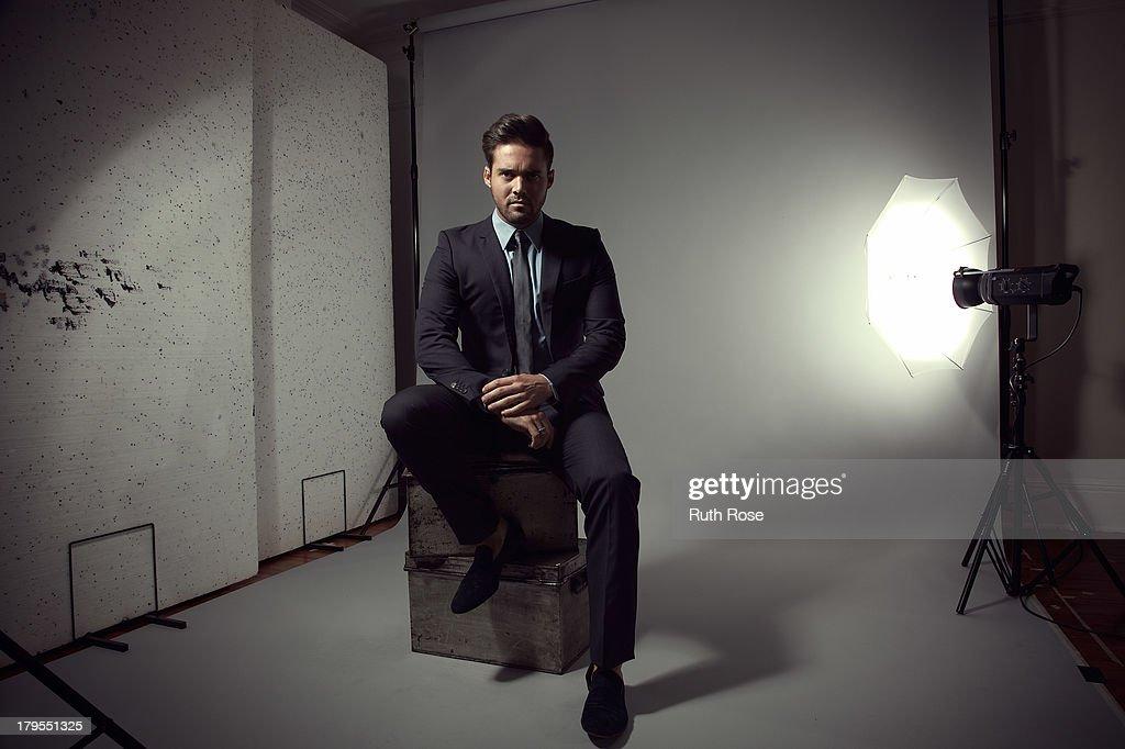 Spencer Matthews, Portrait shoot, October 12, 2012