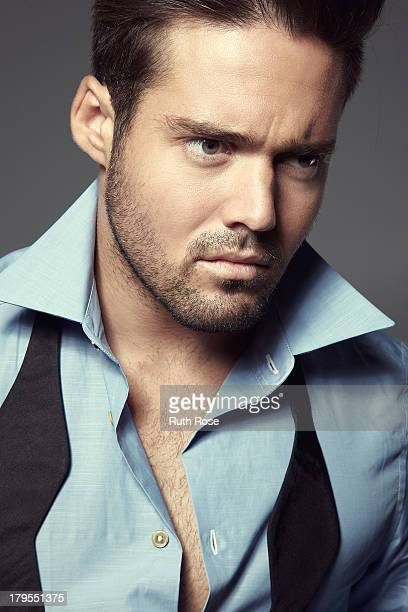Socialite and star of reality show Made in Chelsea Spencer Matthews is photographed on October 12 2012 in London England