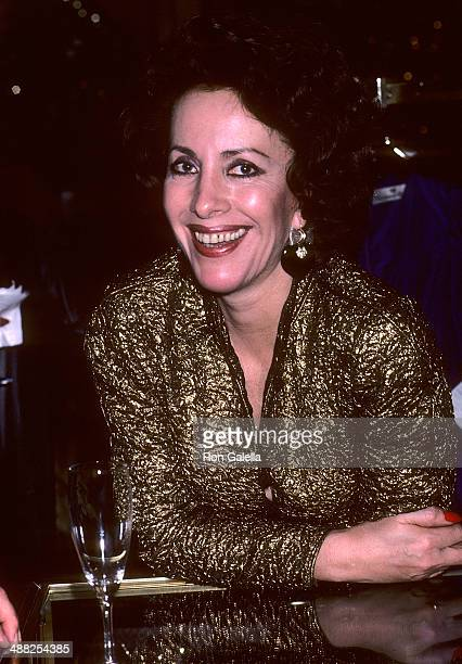 Socialite Andrea Reynolds attends Contessina Francesca Braschi Fashion Show and Cocktail Reception on November 14 1985 at Saks Fifth Avenue in New...