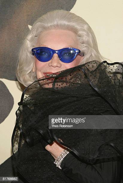 Socialite Anne Slater attends the 20th Anniversary of Indochine at Indochine Restaurant on November 19 2004 in New York City