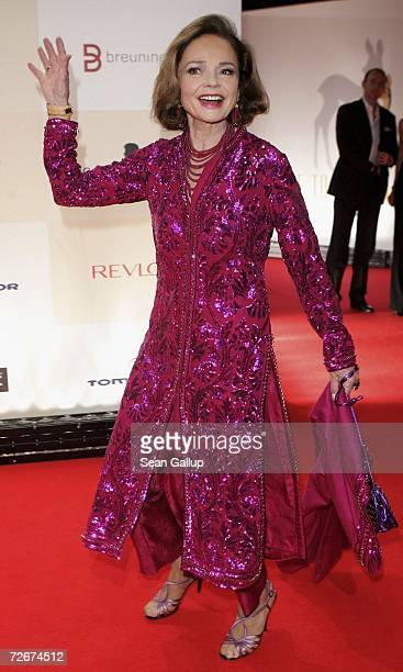 Socialite AnnKatrin Bauknecht attends the Tribute to Bambi charity gala traditionally held a night before the annual Bambi Awards on November 29 2006...