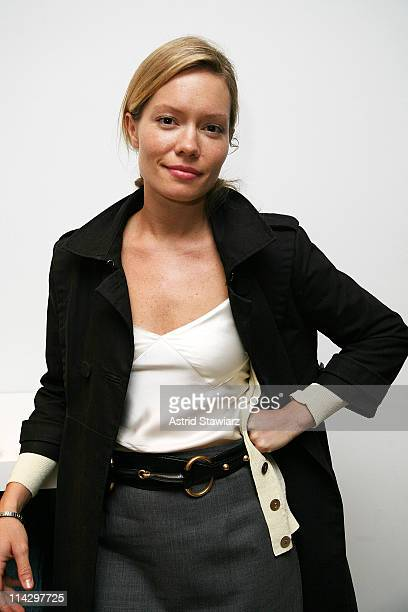 """Socialite Brooke Gehan celebrates Sloane Crosley's book """" I Was Told There'd Be Cake"""" at Helmut Lang on April 22, 2008 in New York City."""