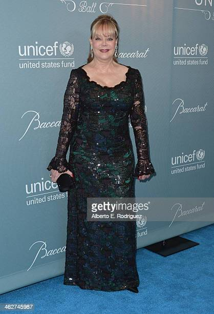 Socialite Candy Spelling arrives to the 2014 UNICEF Ball Presented by Baccarat at the Regent Beverly Wilshire Hotel on January 14 2014 in Beverly...