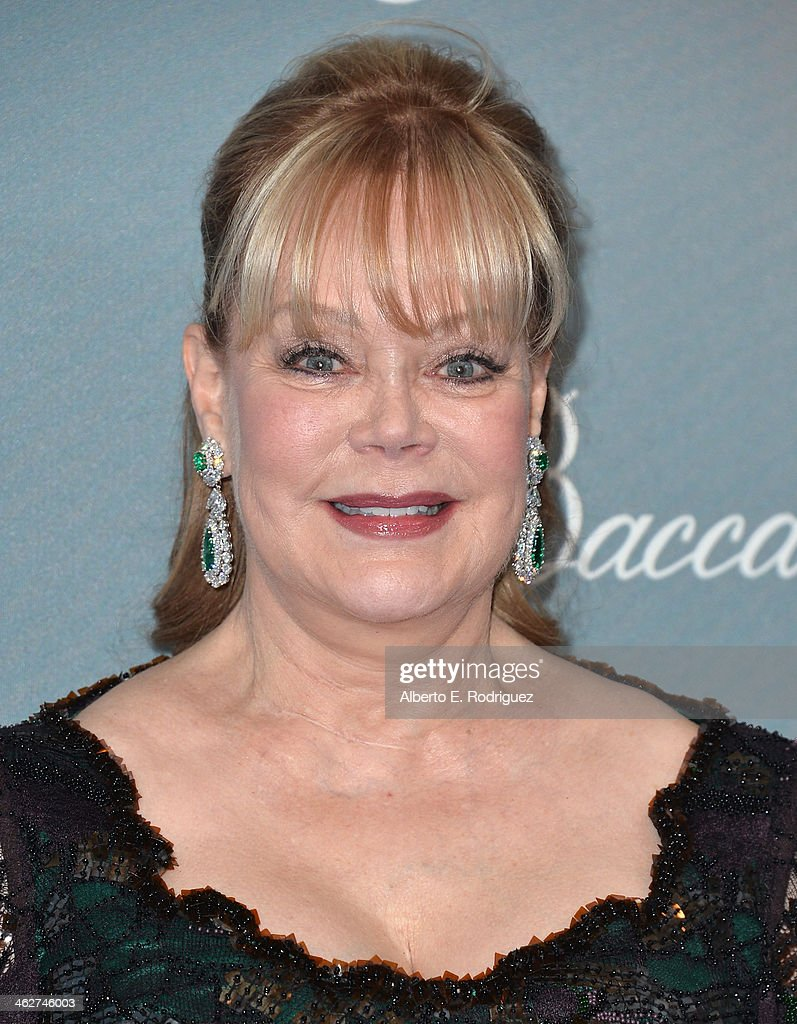 Socialite Candy Spelling arrives to the 2014 UNICEF Ball Presented by Baccarat at the Regent Beverly Wilshire Hotel on January 14, 2014 in Beverly Hills, California.