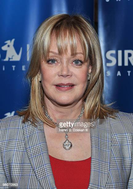 Socialite Candy Spelling visits The Nosebleed Nightshift with Filip Fredrik at SIRIUS XM Studio on March 26 2010 in New York City