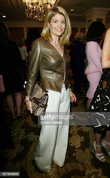 Socialite Carla Sands attends the Saks Fifth Avenue presents Oscar De La Renta Fall 2008 Collection at the Annual Colleagues Luncheon honoring Angie...