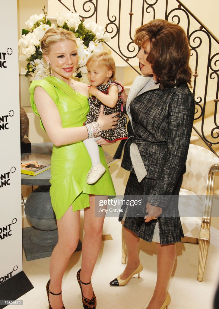 Casey Johnson Hosts Party for Roger Moenks Inherited Beauty : News Photo