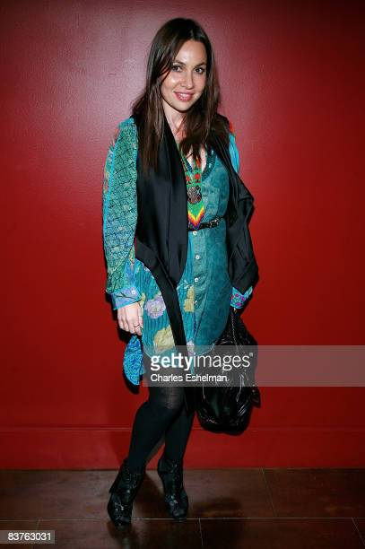 Socialite Fabiola attends the sixth annual 'Wrap to Rap' hosted by New Yorkers For Children to benefit children in foster care at Empire Hotel...
