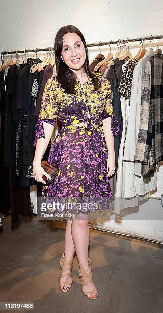 Socialite Fabiola Beracasa attends Shop for a Cause at Use Your Head on April 26 2011 in New York City
