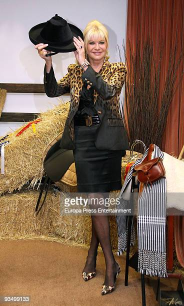Socialite Ivana Trump attends a dinner gala during the 'Horse Fair' on November 30 2009 in Seville Spain