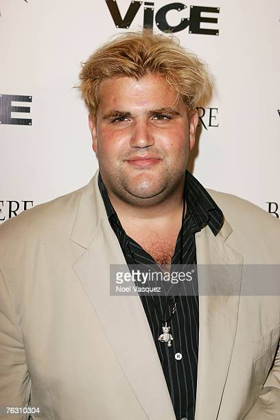 Socialite Jason Davis attends the Grand Opening of Vice on August 23 2007 in Hollywood California