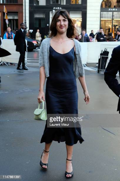 Socialite Jeanne Damas attends the 350th Anniversary Gala Outside Arrivals At Opera Garnier on May 08 2019 in Paris France