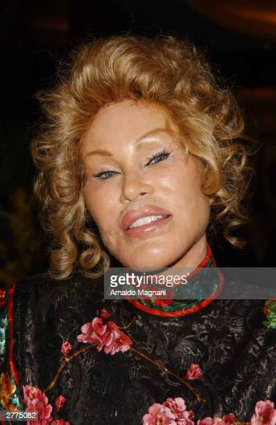Socialite Jocelyn Wildenstein attends the gala opening of the Mandarin Oriental New York at the Mandarin Oriental December 1 2003 in New York City