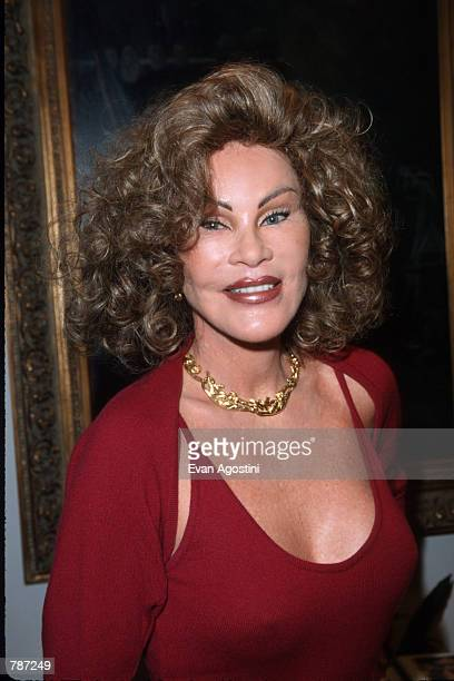 Socialite Jocelyne Wildenstein poses for a picture February 10 1999 in New York City Wildenstein is the wife of wealthy art dealer Alec Wildenstein