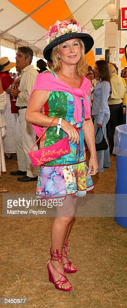 Socialite Kathy Hilton attends the Prudential Financial Grand Prix Hamptons Classic Horse Show August 31 2003 in Bridgehampton New York