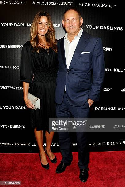 """Socialite Kelly Killoren Bensimon and John Dempsey attend The Cinema Society and Johnston & Murphy host a screening of Sony Pictures Classics' """"Kill..."""