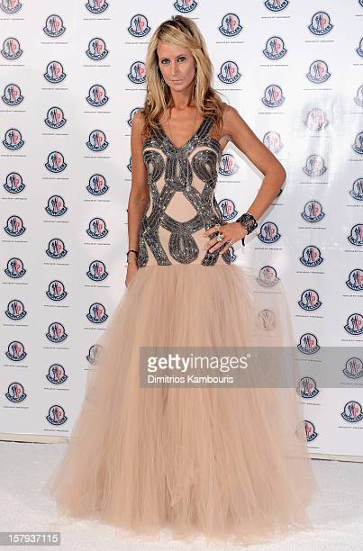 Socialite Lady Victoria Hervey attends a private dinner celebrating Remo Ruffini and Moncler's 60th Anniversary during Art Basel Miami Beach on...