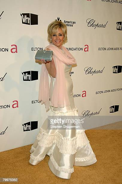 Socialite Lana Marks attends the 16th Annual Elton John AIDS Foundation Academy Awards viewing party at the Pacific Design Center on February 24 2008...