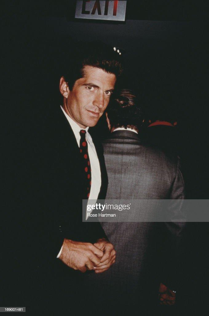 Socialite, magazine publisher, lawyer and son of U.S. President John F. Kennedy, John F. Kennedy, Jr, circa 1994.