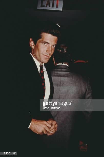Socialite magazine publisher lawyer and son of US President John F Kennedy John F Kennedy Jr circa 1994