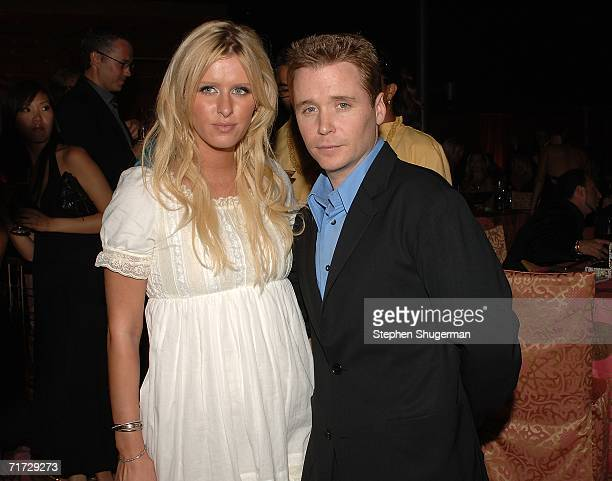 Socialite Nicky Hilton and her boyfriend, actor Kevin Connolly attends the HBO Post Emmy Party held at The Plaza at the Pacific Design Center on...