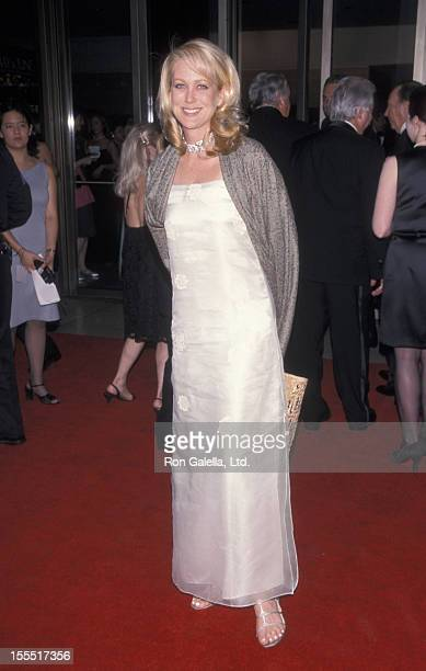 Socialite Nina Griscom attends 27th Annual Fragrance Foundation Fifi Awards on June 27 1999 at Avery Fisher Hall at Lincoln Center in New York City