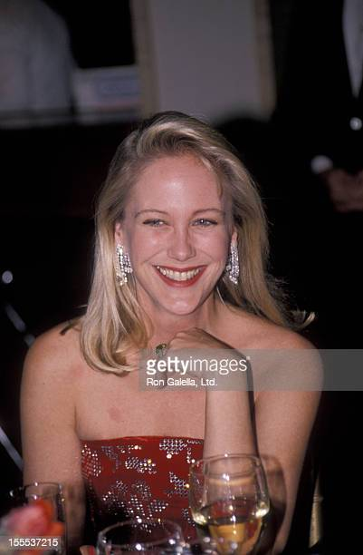 Socialite Nina Griscom attends 91st Opening Gala for the New York Ballet on November 21 1989 at Lincoln Center in New York City
