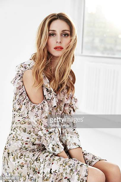 Socialite Olivia Palermo is photographed for Fashion Magazine on December 15 2015 in New York City