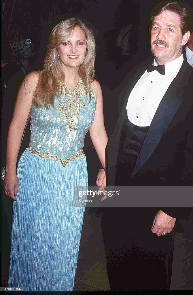 Socialite Patty Hearst and husband Bernard Shaw attending the 'Carousel of Hope Ball' on October 2, 1992 at the Beverly Hilton Hotel in Beverly Hills, California.