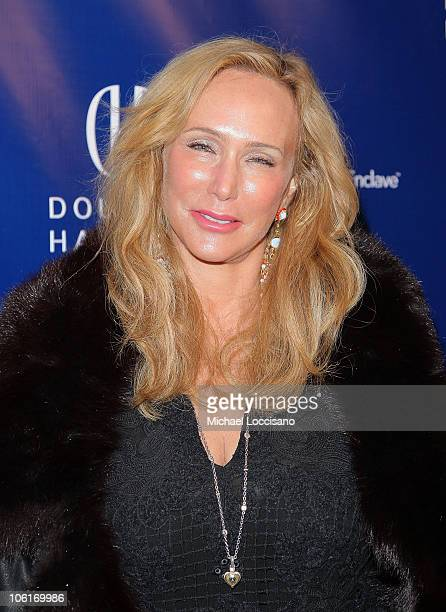 Socialite Patty Raynes arrives to Douglas Hannant's Tenth Anniversary Celebration at The Bon Appetit Supper Club in New York City on October 26 2007