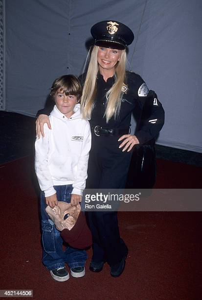 Socialite Suzan Hughes and son Alexander attend the Sixth Annual Dream Halloween Benefit for the Children Affected by AIDS Foundation on October 30...