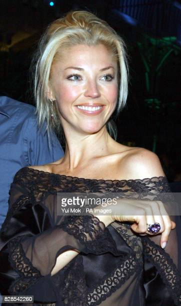 Socialite Tamara Beckwith arriving for the The Dian Fossey Gorilla Fund rock concert at the Royal Opera House in London's Covent Garden to mark the...