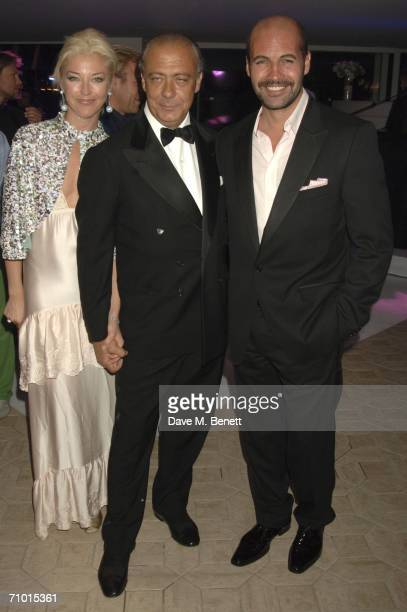 Socialite Tamara Beckwith Fawaz Gruosi and actor Billy Zane attend the annual De Grisogono party hosted by the Swissbased jewellery house at Hotel Du...