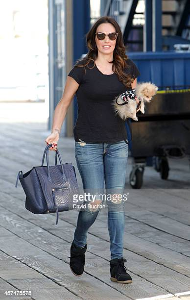 Socialite Tamara Ecclestone spotted in Santa Monica on December 17 2013 in Los Angeles California