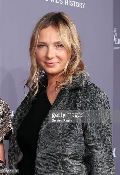 Socialite Tatiana Silva attend the AmfAR New York Gala 2018 at Cipriani Wall Street on February 7 2018 in New York City